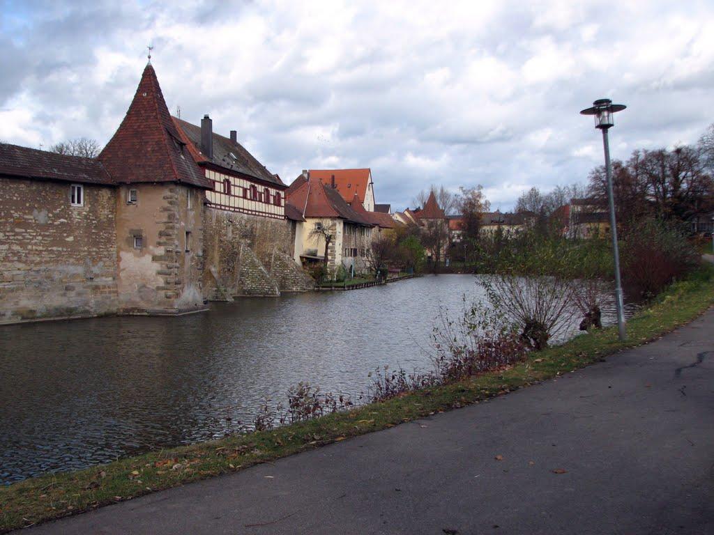 Weißenburg, The city walls, Вайсенбург