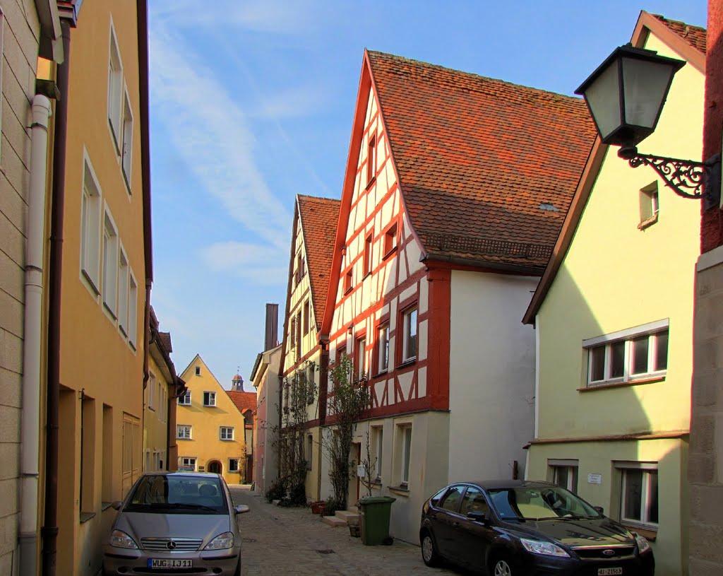 Weißenburg in Bayern - Brunnengasse, Вайсенбург