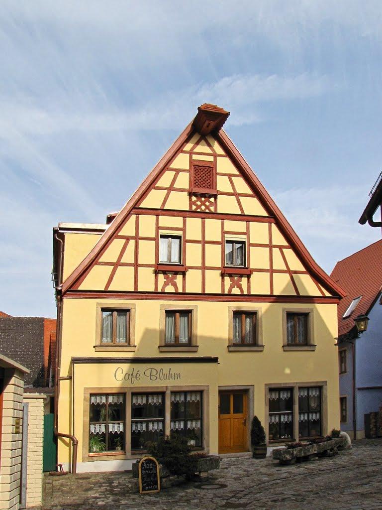 Weißenburg in Bayern - Café Bluhm, Вайсенбург