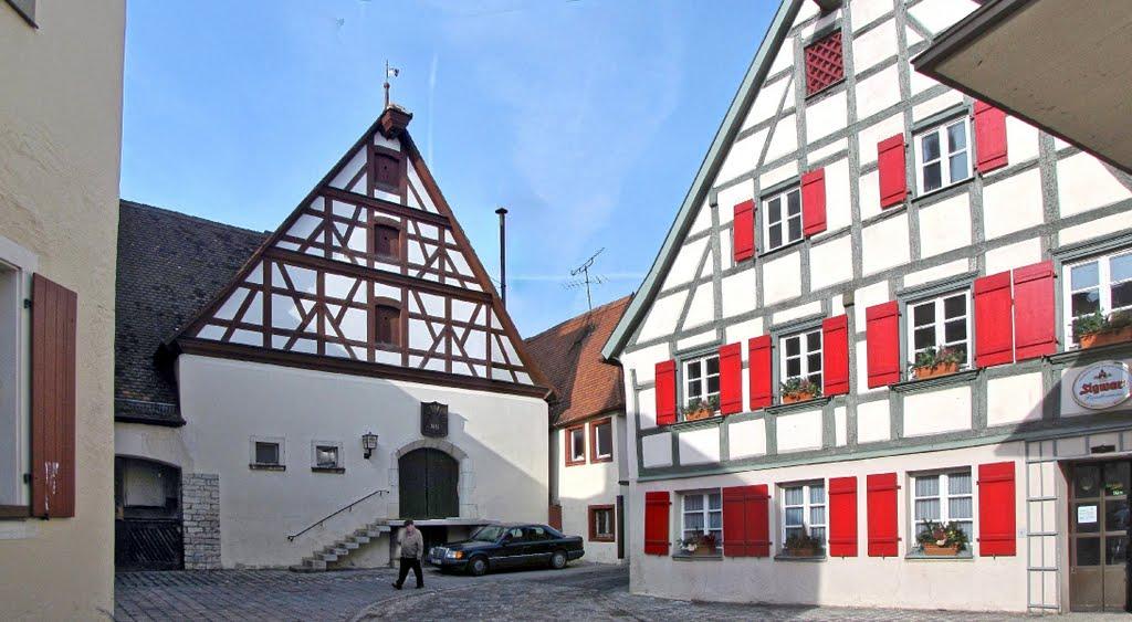 Weißenburg in Bayern - Brauerei Sigwart (Brautradition seit 1451), Вайсенбург