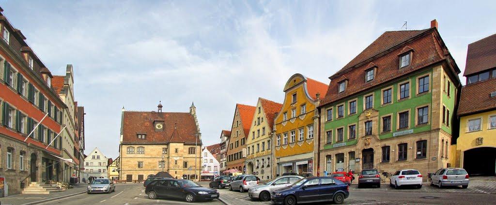 Weißenburg in Bayern - Marktplatz, Вайсенбург