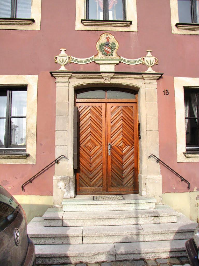 Weißenburg in Bayern - Schöner Hauseingang, Вайсенбург