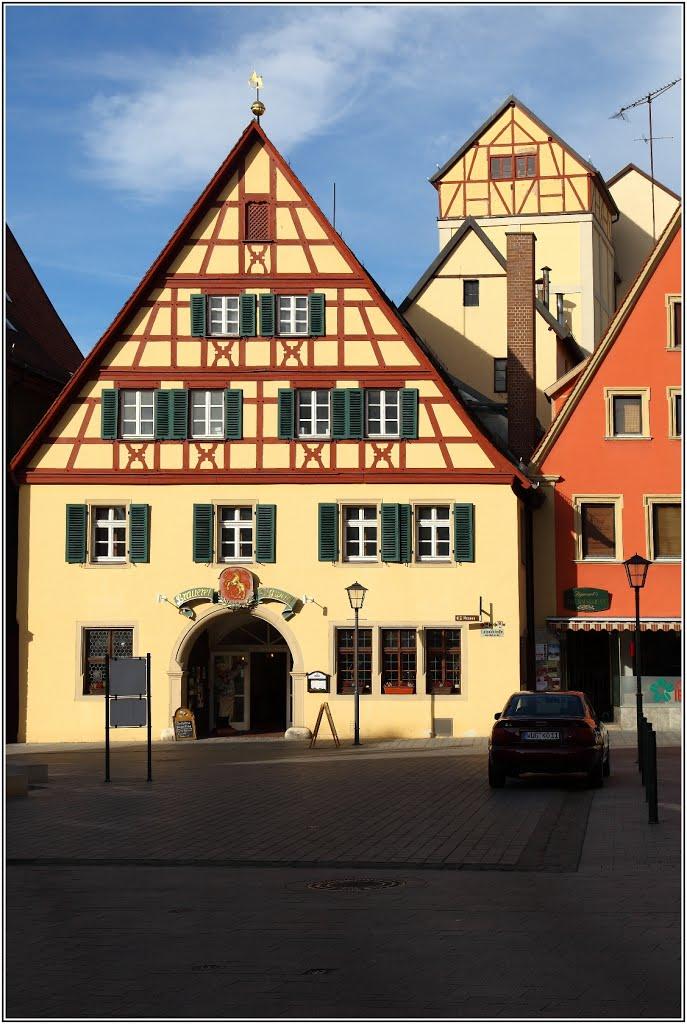 Weissenburg in Bayern Deutschland, Вайсенбург