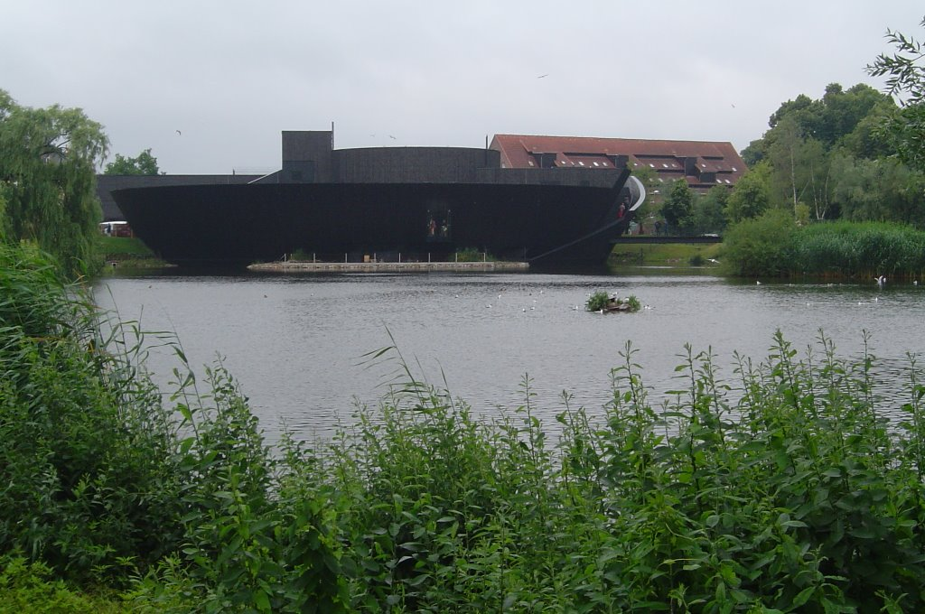 Mueritzeum, Museum, Waren, Mecklenburg-West Pomarania/ Germany, June 28 2008, Варен