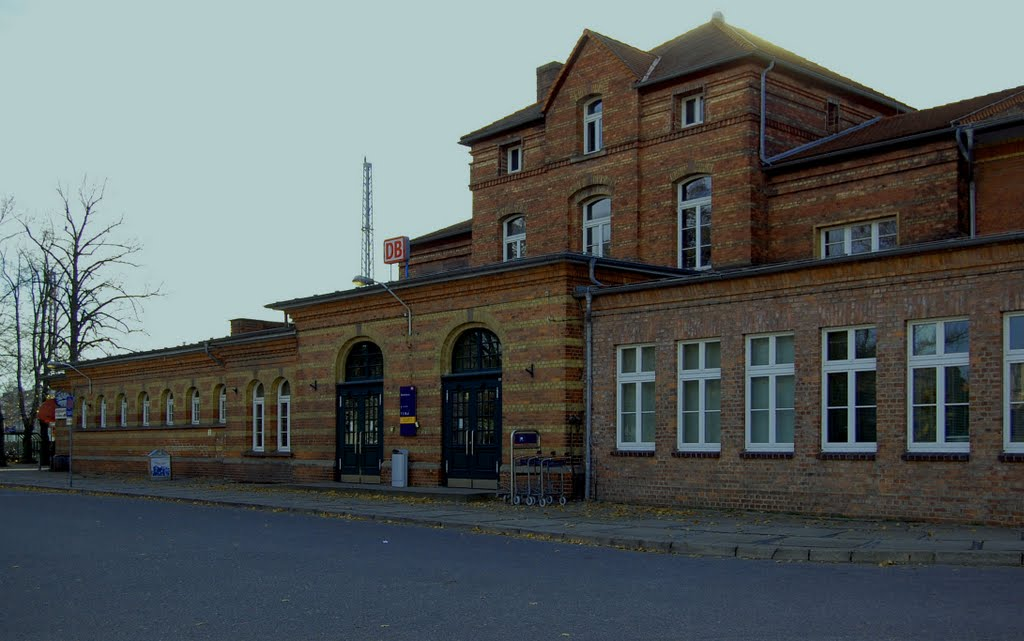 Bahnhof Waren/Müritz, Варен