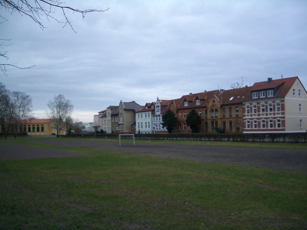 Sportplatz an der Schillerstrasse, Гарделеген