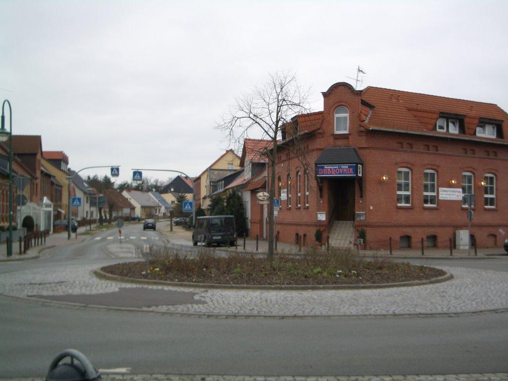 Kreisverkehr Stendaler/Bismarkerstrasse, Гарделеген