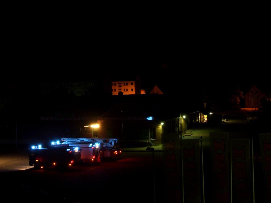 Feuerwehr bei Nacht, Гарделеген