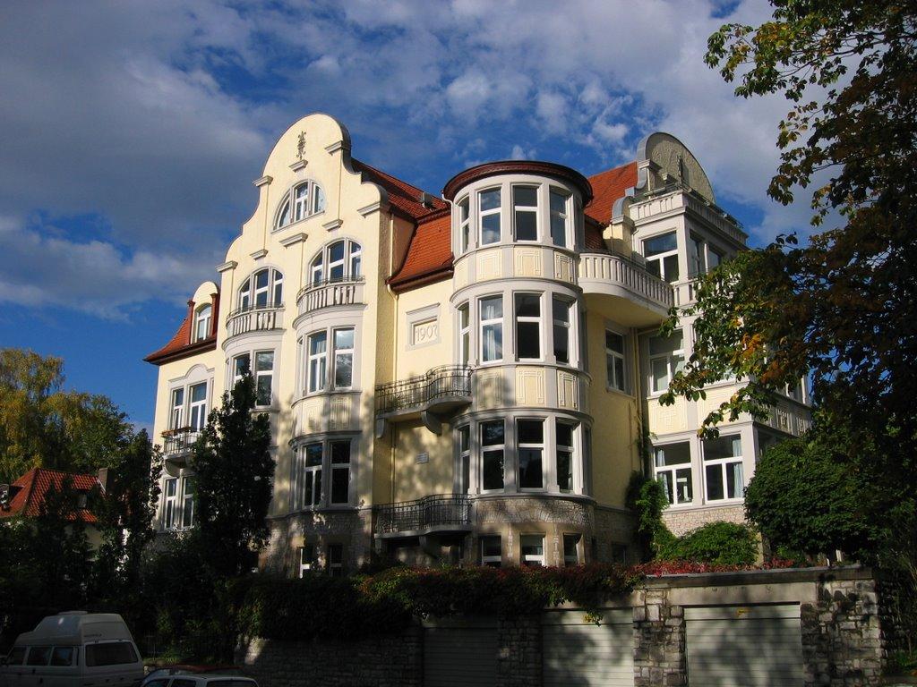 """""""Drei Männer Haus"""" der Brüder Hahn (ehem. Sitz der """"Göttinger Gruppe""""), Геттинген"""