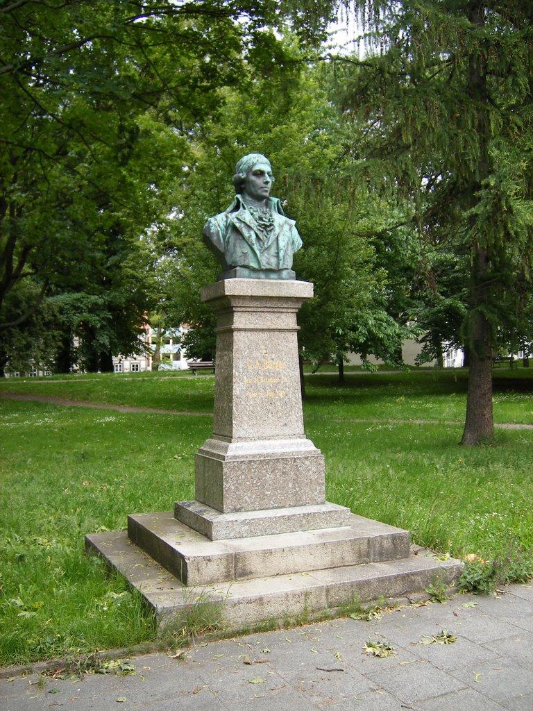 Gottfried-August-Bürger-Denkmal, Göttingen, Геттинген