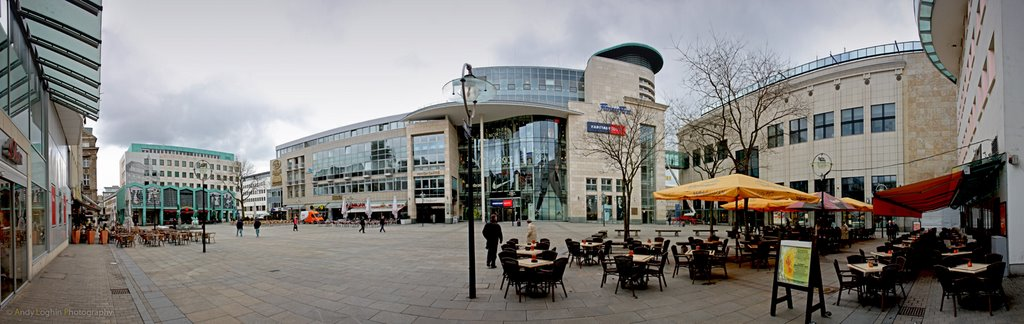 Marktplatz panorama, Дортмунд