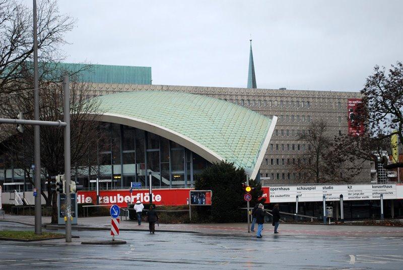 Dortmund theater hall, Дортмунд