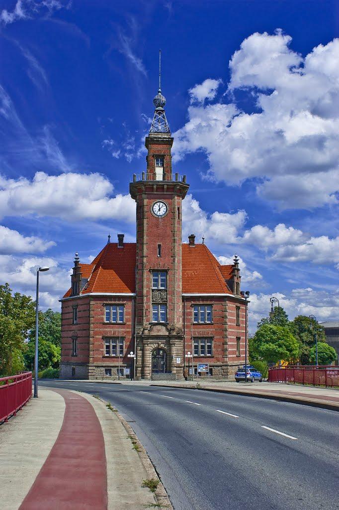 Das alte Hafenamt in Dortmund., Дортмунд