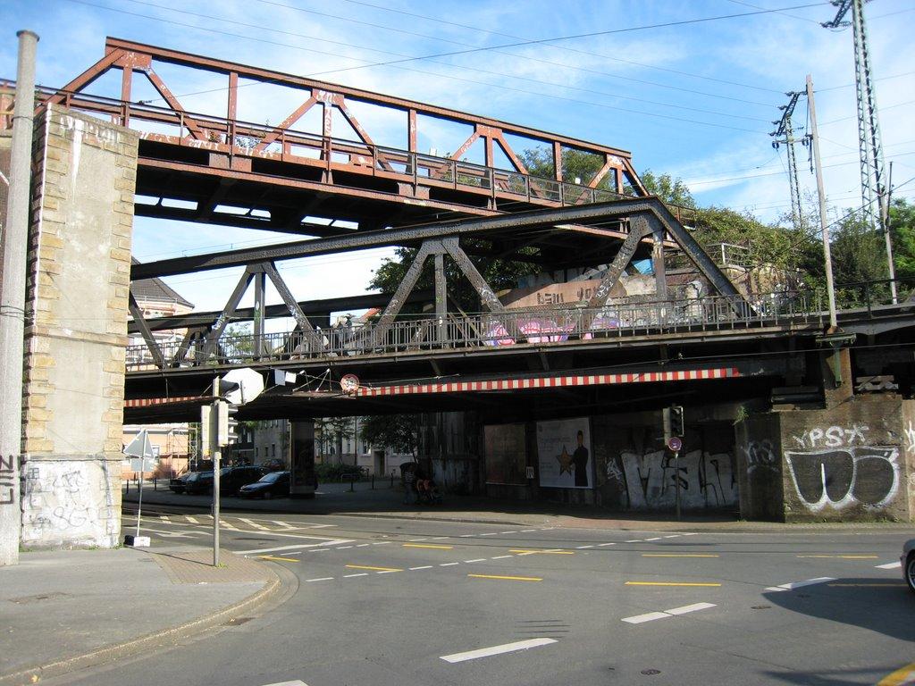 Brücke über die Brücke, Oestermärsch Ecke Gronaustraße, Дортмунд