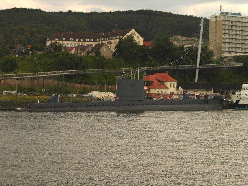 U-Boot im Hafen von Sassnitz, Засниц