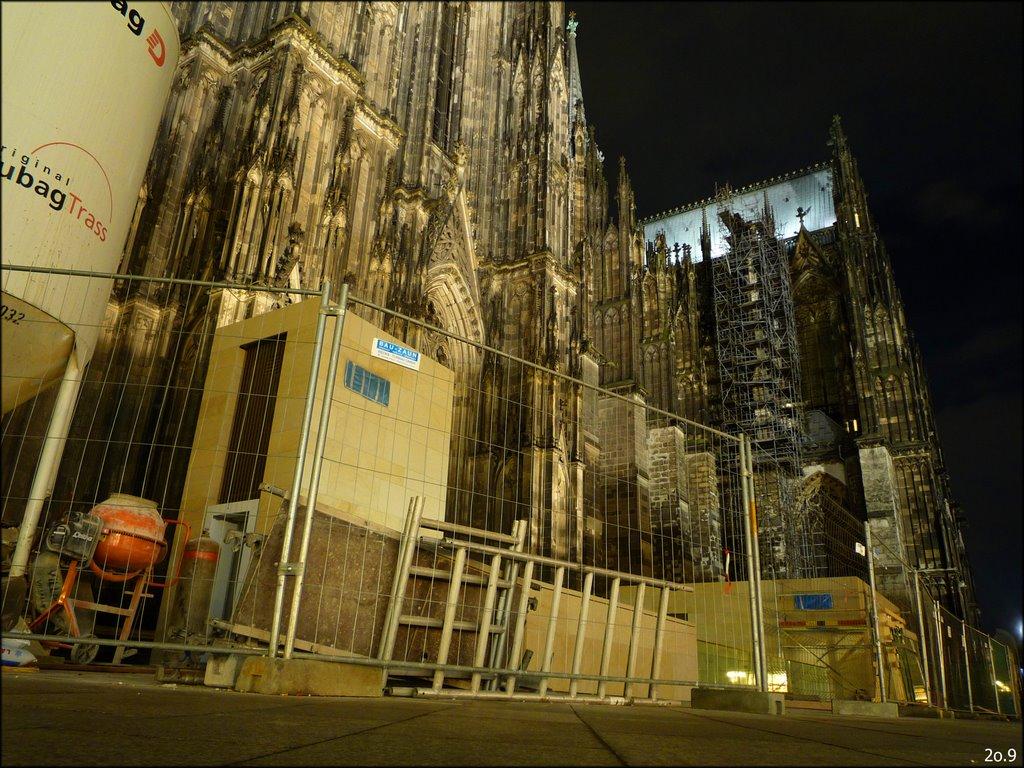 Dom Baustelle Köln - Cathedrals construction place Cologne, Кельн