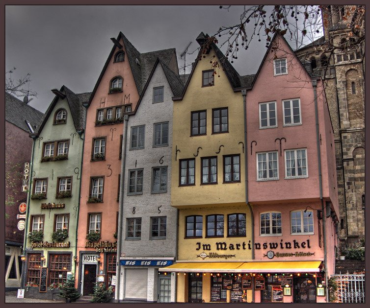 The old Cologne, Кельн