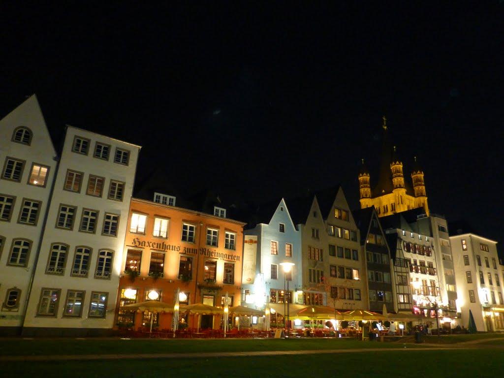 DE - Köln / Cologne - Rheinpanorama, Кельн
