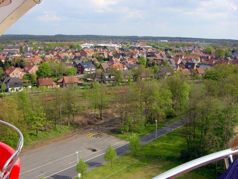 Blick Richtung Weserstraße Lingen Emsland Niedersachsen 2008, Линген