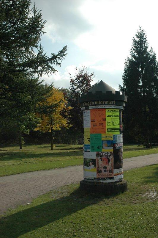 Unique Advertisement in Lingen, Линген