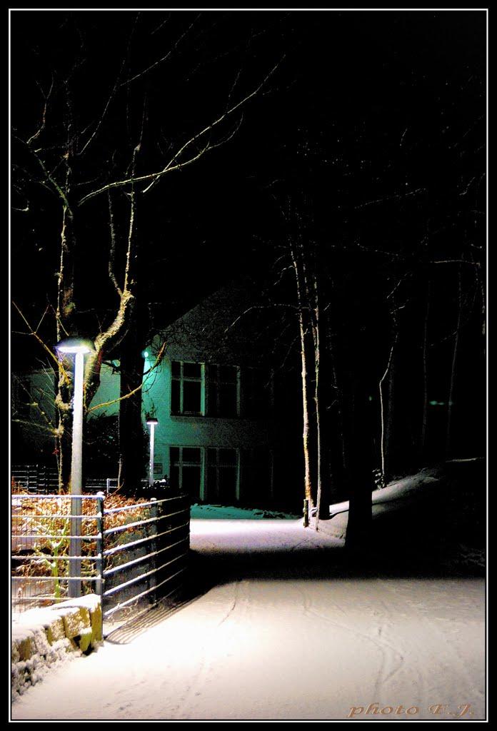 The streets of Lingen. 1. Lingen utcáin., Линген