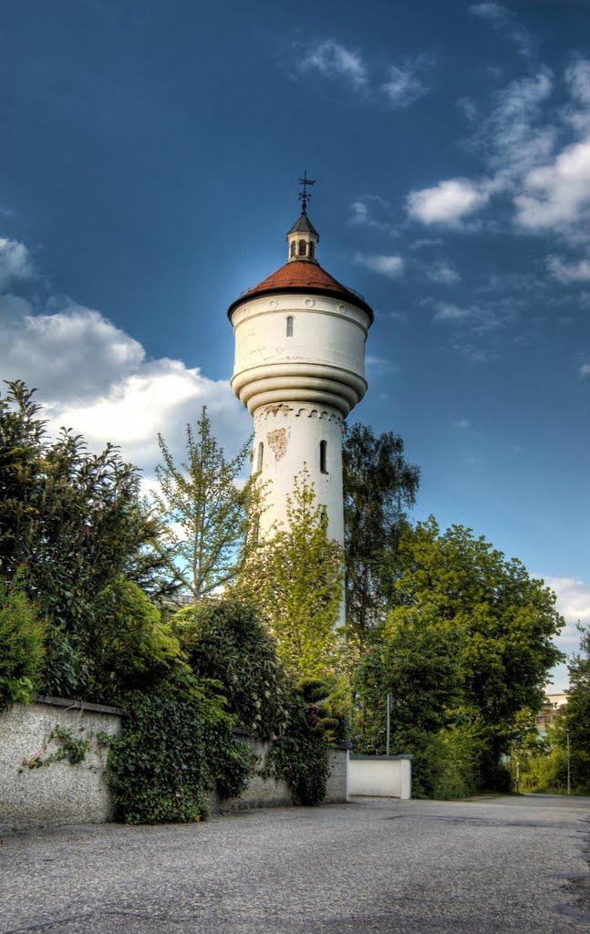Wasserturm in Mühldorf (04.05.2011,Mi), Мюльдорф