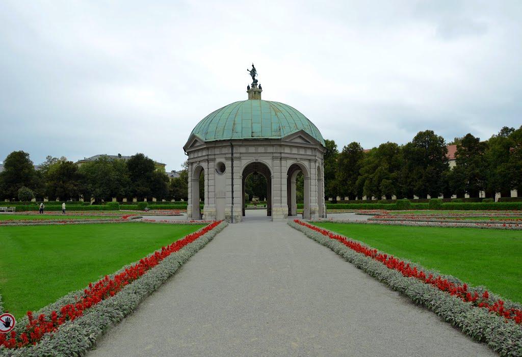 Germany - Munich - Hofgarten - Diana Temple, Мюнхен