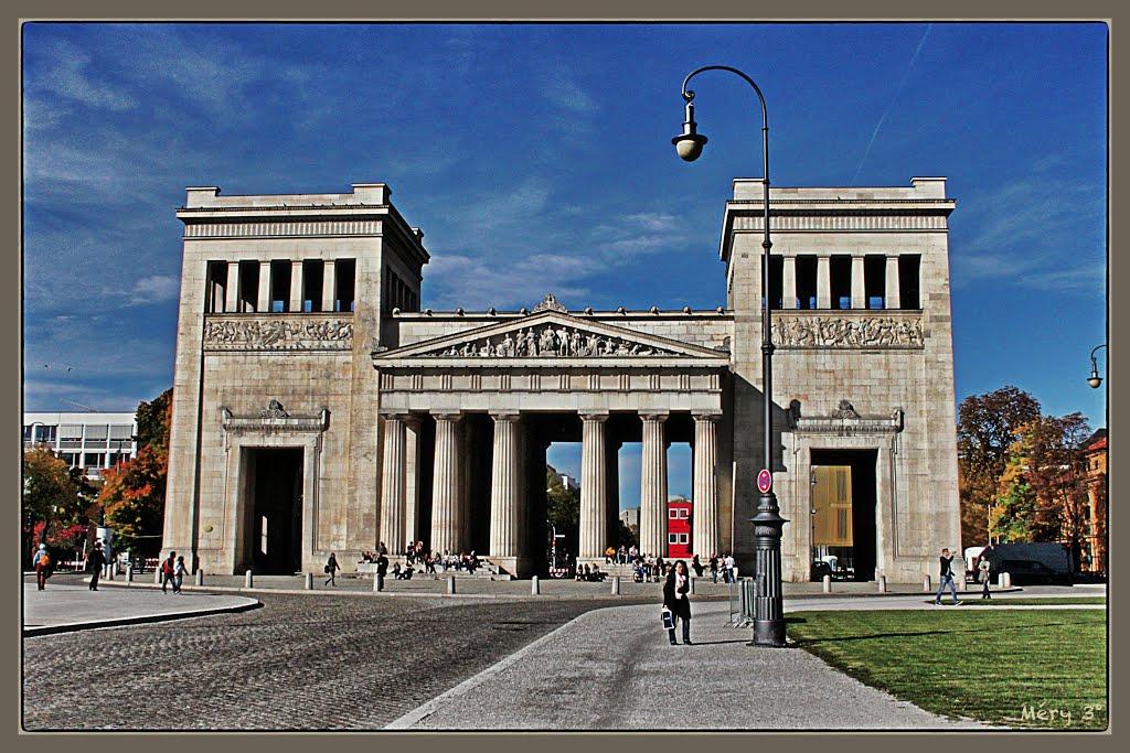 Place Royale (Königsplatz) à Munich - 3, Мюнхен