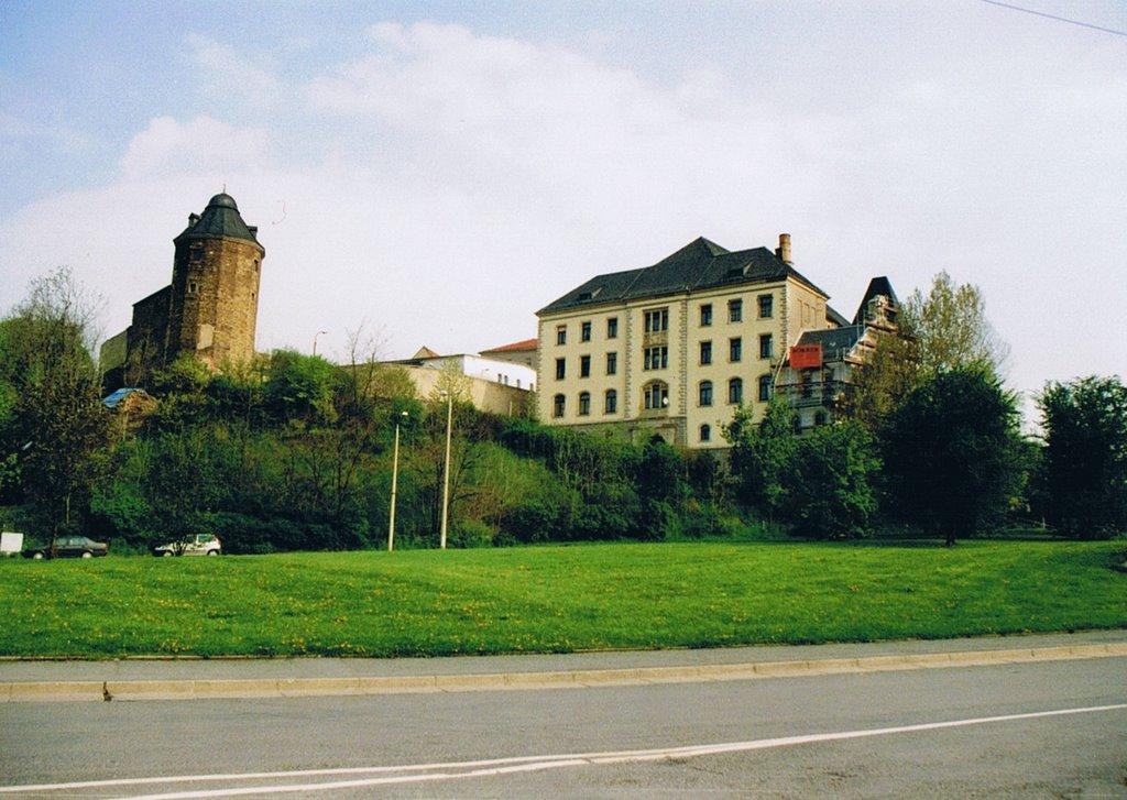 Schlossruine, Плауен