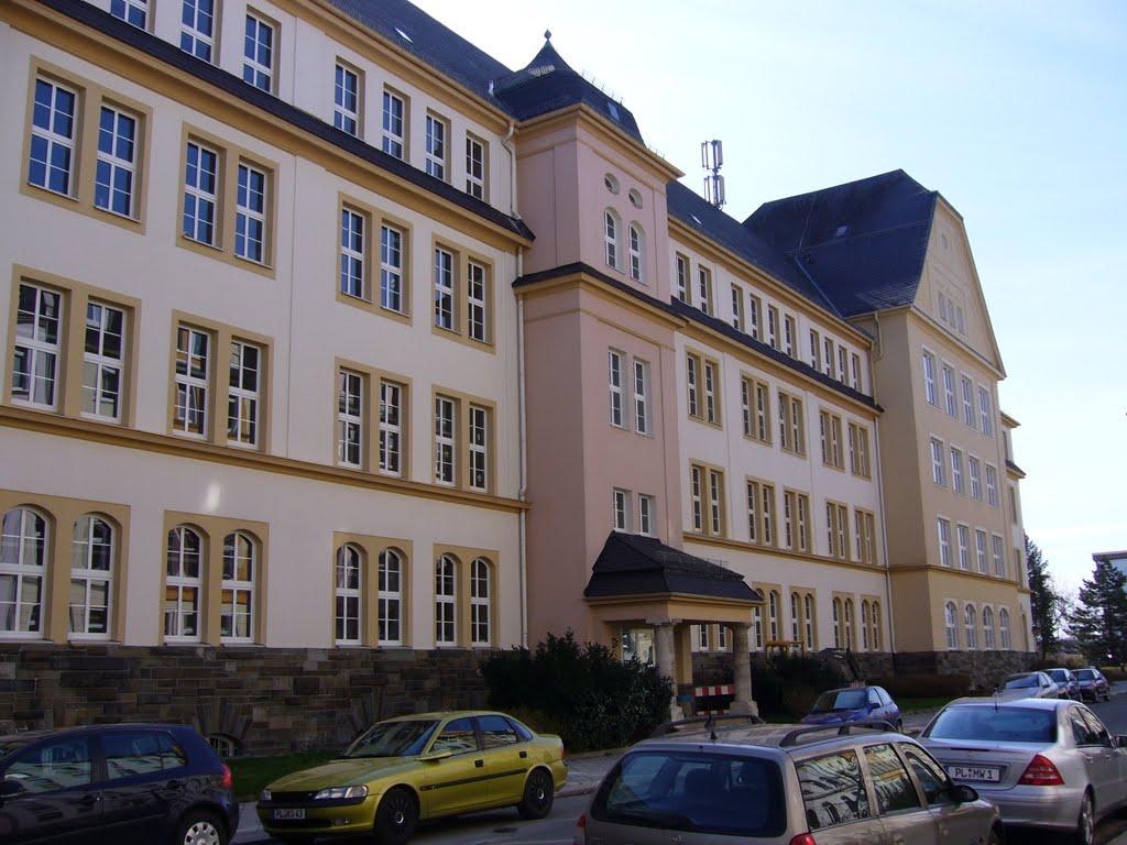 Diesterweg-Gymnasium, Плауен