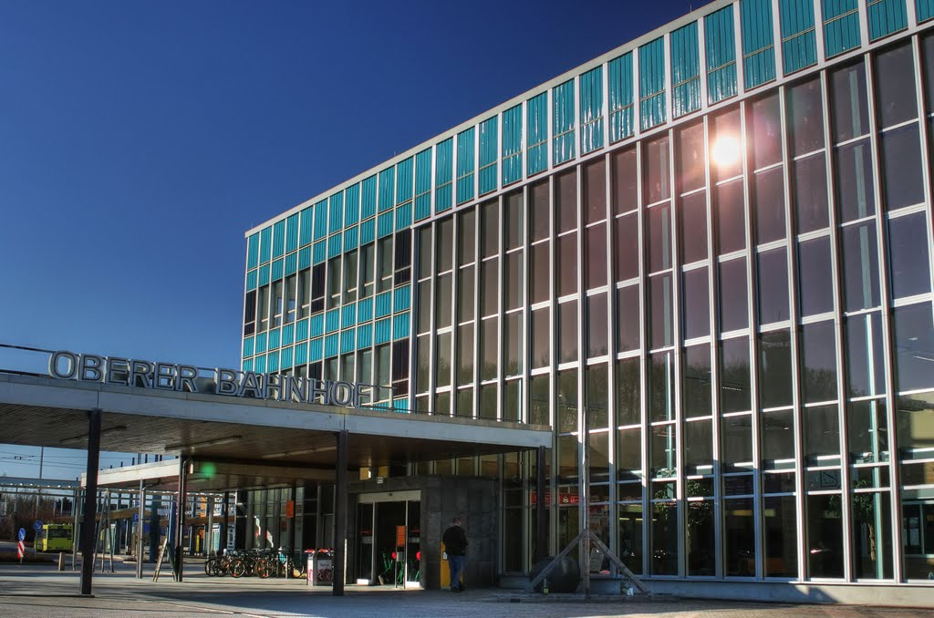 Oberer Bahnhof in Plauen, Плауен