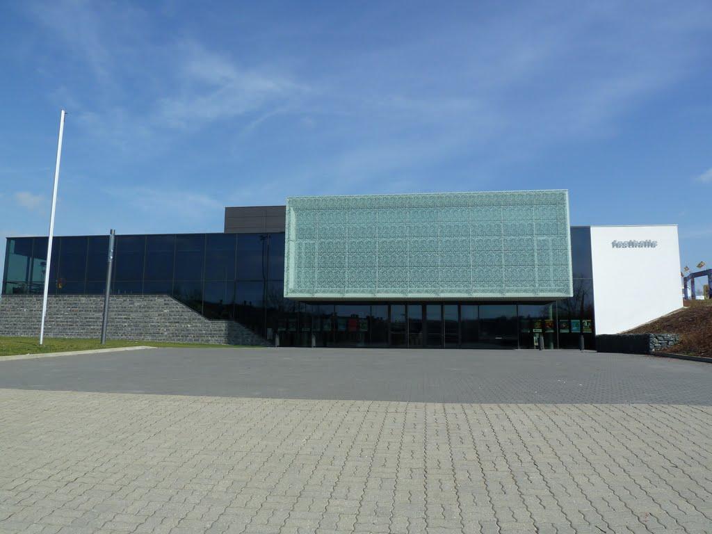 Festhalle, Kultur-und Kongresszentrum, Плауен