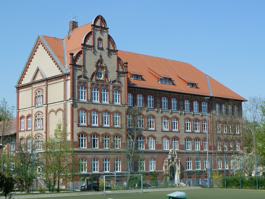 Fiedlerstr., Kemmlerschule, Плауен