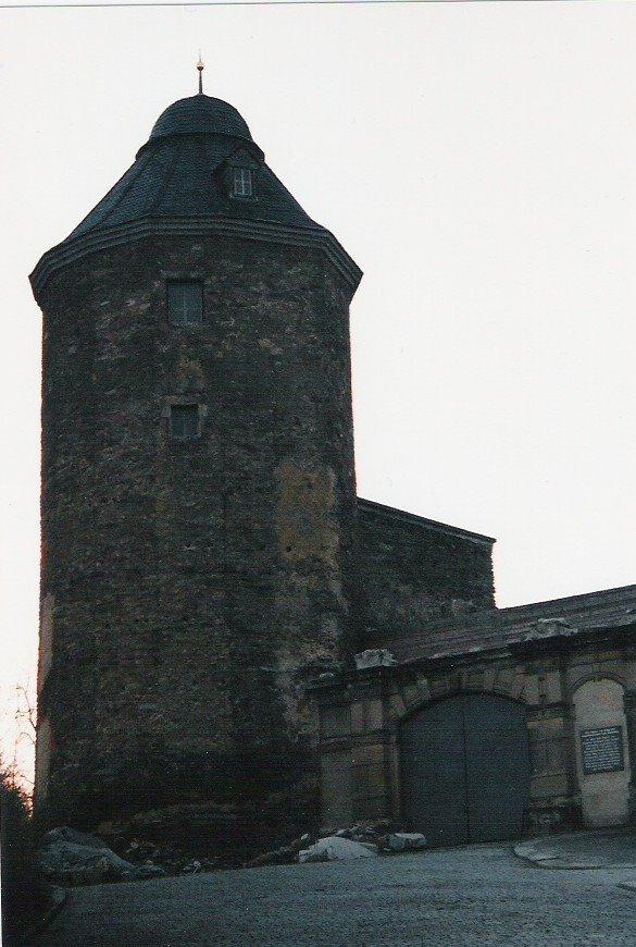 16eckiger Turm altes Schloss, Плауен
