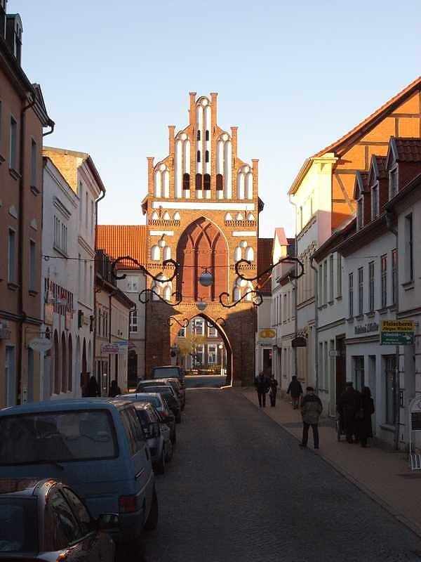 Teterow, Rostocker Tor (Stadtseite), Тетеров