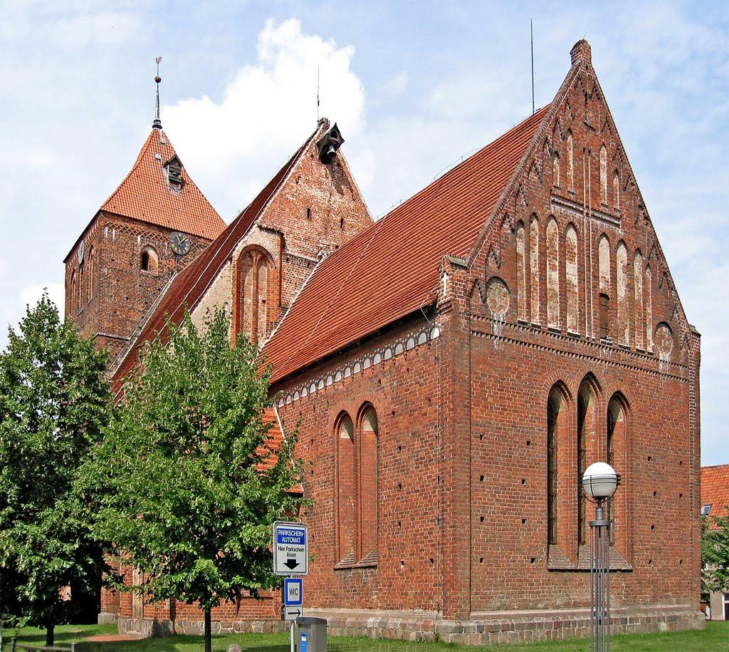 Teterow - Kirche St. Peter und Paul, Тетеров