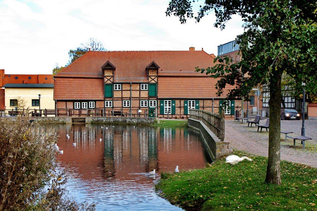 Teterow, (ehemalige) Stadtmühle, Тетеров