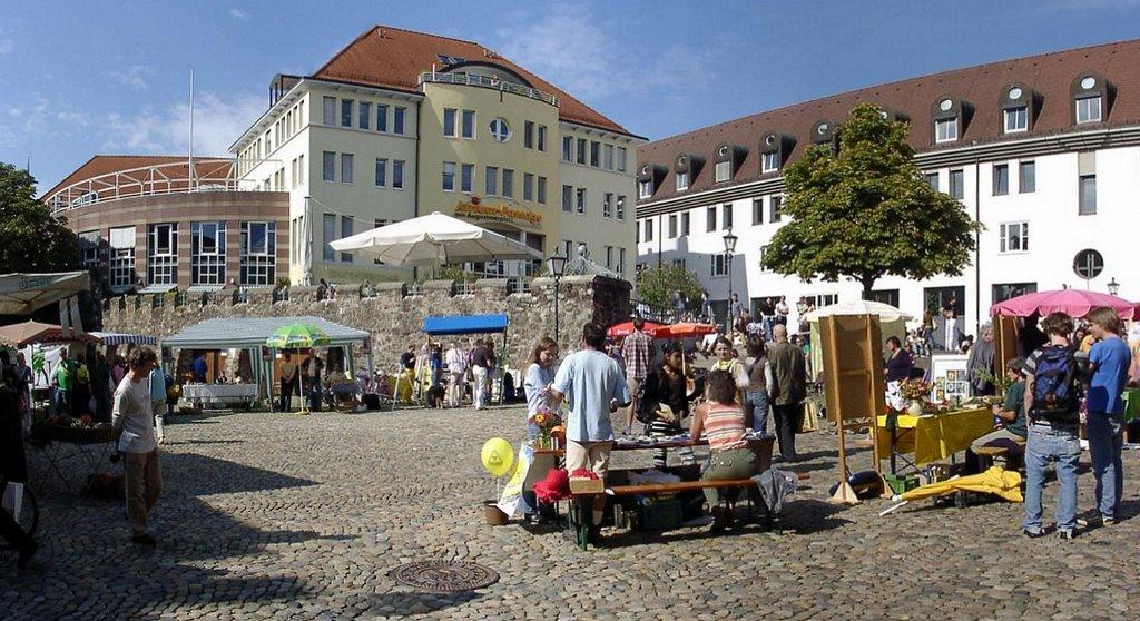 """Freiburg - """"Flohmarkt"""" Augustinerplatz, Фрайбург"""