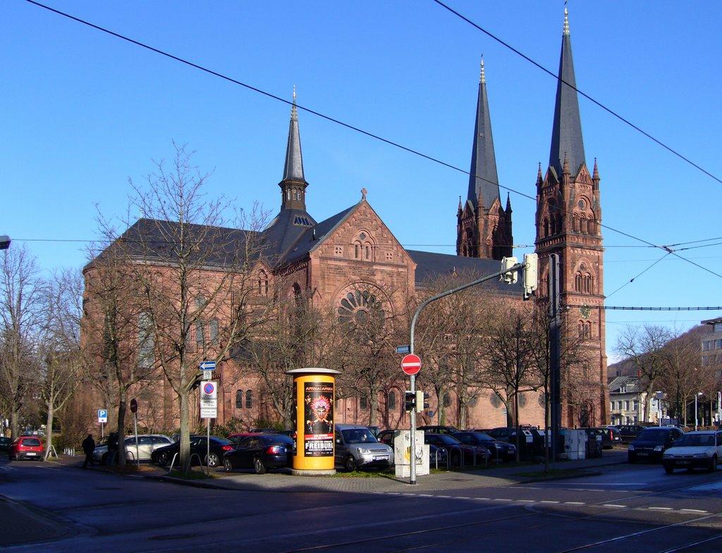 Freiburg, St. Johann Kirche ¦ pilago, Фрайбург