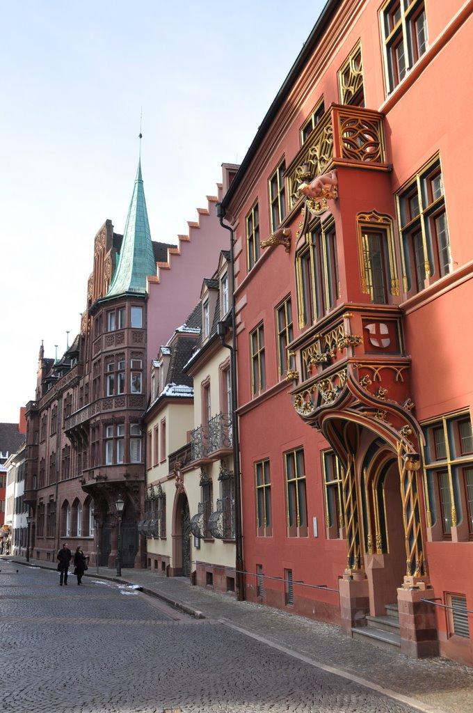Freiburg, Haus zum Walfisch ¦ pilago, Фрайбург