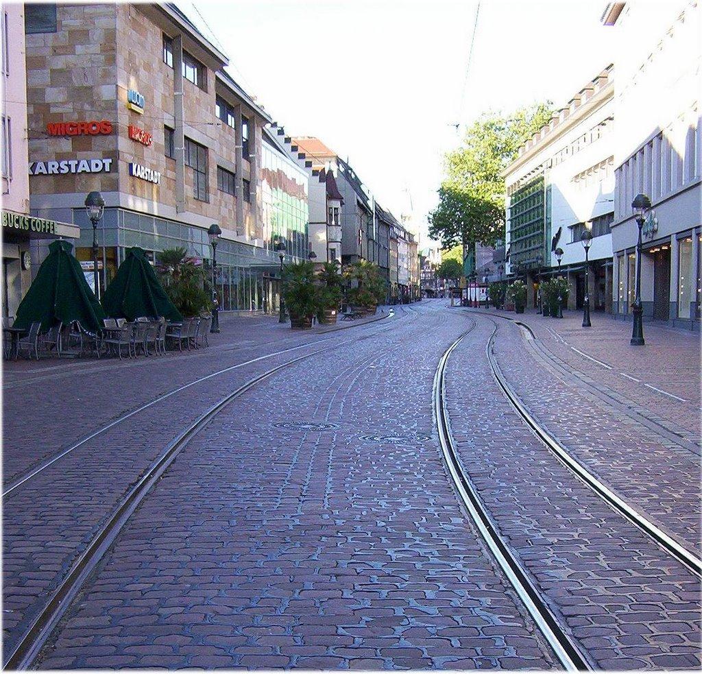 Freiburg city center, Фрайбург