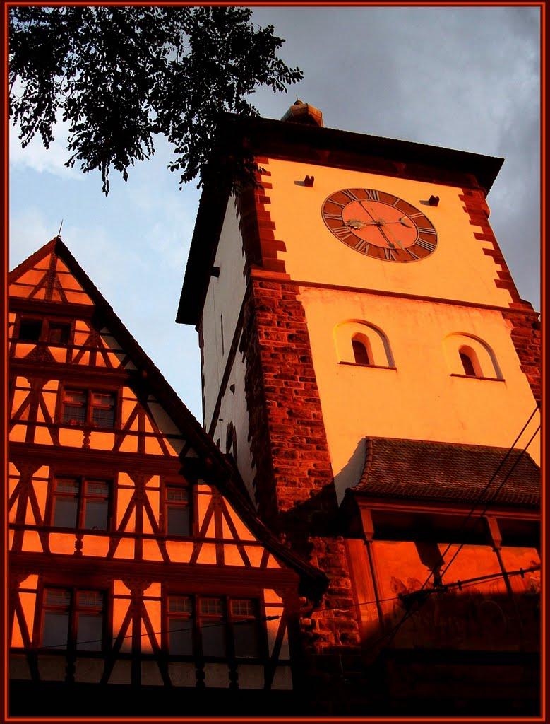 beautiful lights in FREIBURG (germany)........csodálatos fények Freiburgban(3), Фрайбург