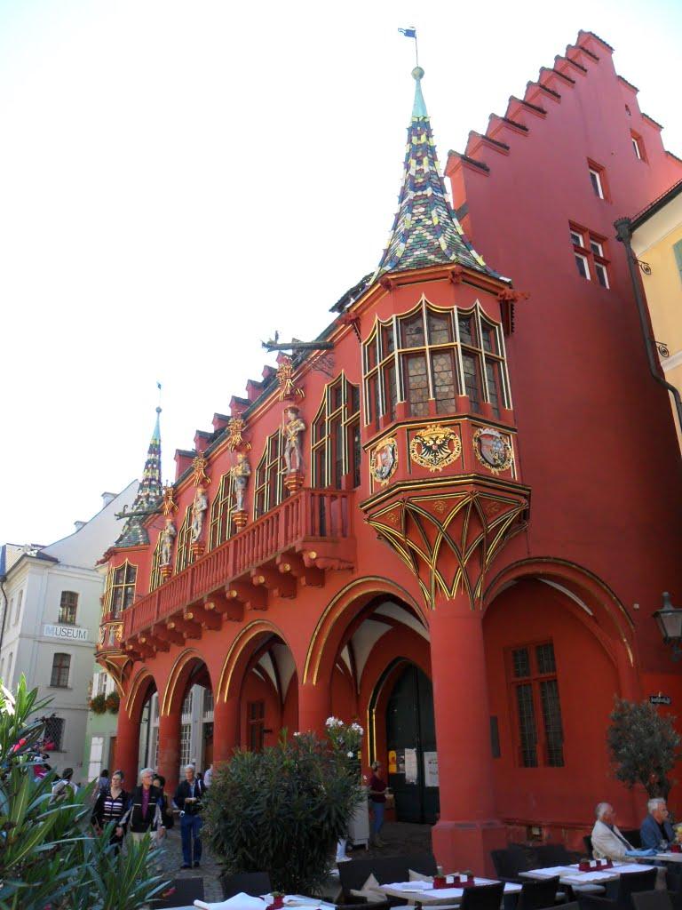 Freiburg - Historisches Kaufhaus - Münsterplatz -, Фрайбург