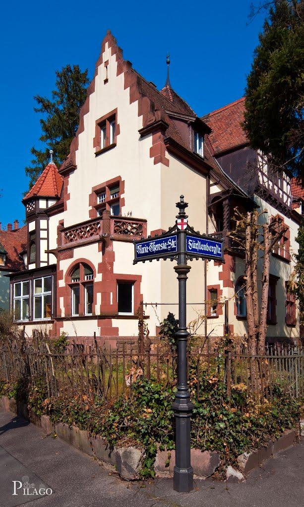 Freiburg-Wiehre, Maria-Theresia-Straße ¦ pilago, Фрайбург