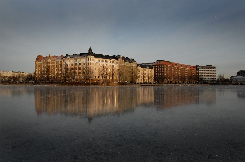 Siltasaari Reflection, Хельсинки