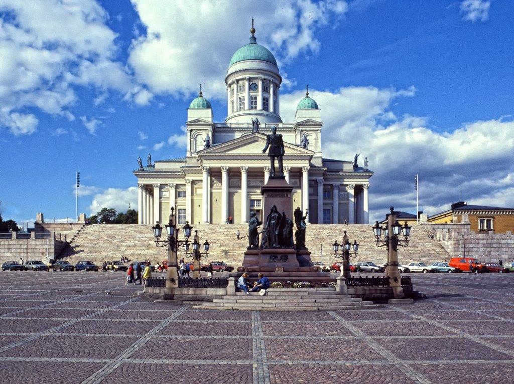 #17 Cathedral in Helsinki, Dom von Helsinki, Senatsplatz, Suomi, Finland, Хельсинки