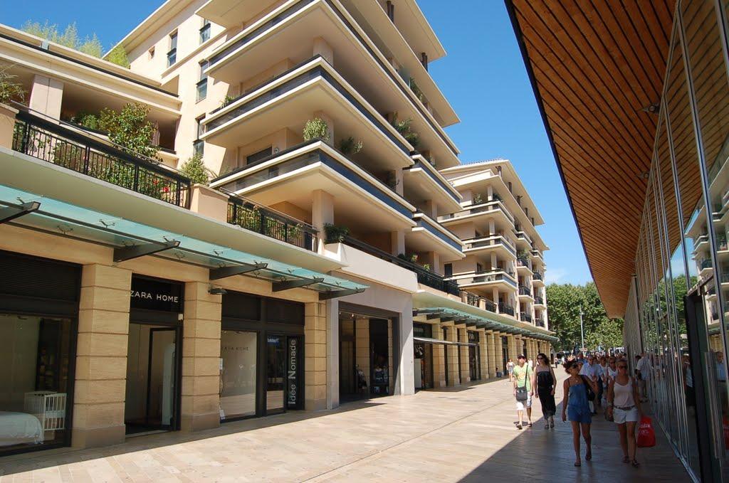 Aix-en-Provence, Avenue Giuseppe Verdi, А-ен-Провенс