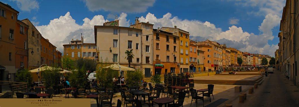 FRA Aix-en-Provence Forum des Cardeurs Panorama by KWOT, А-ен-Провенс