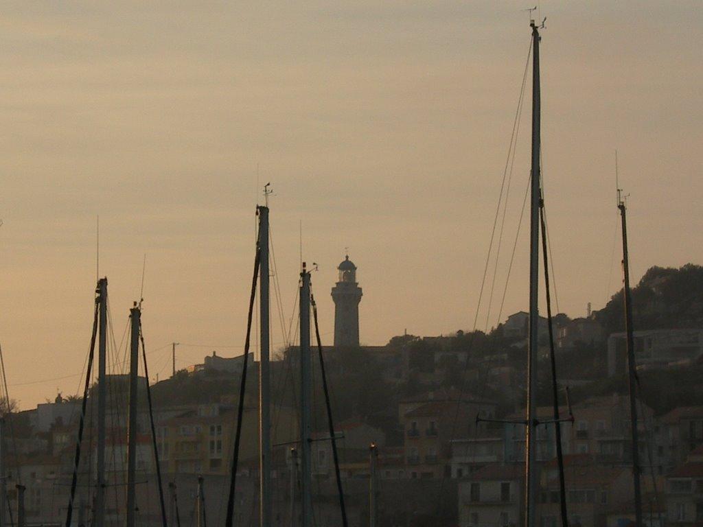 Le phare de Sete construit en 1903, Сет
