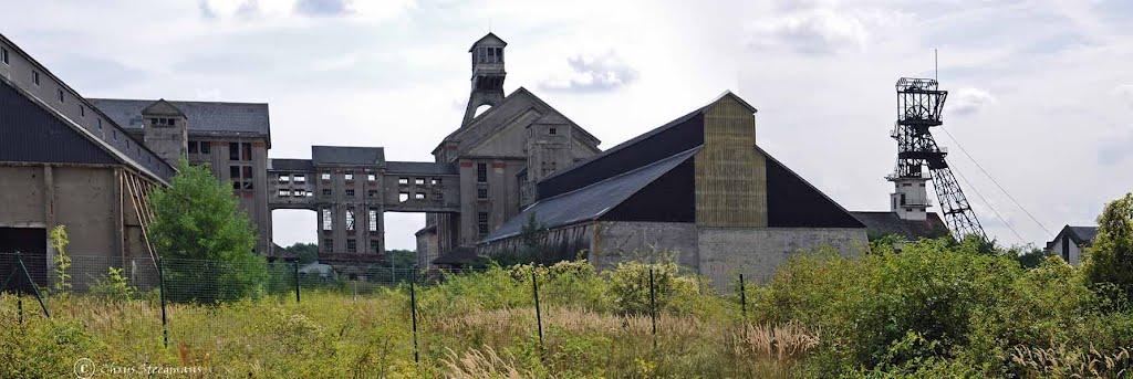 Mines de potasse dAlsace. Pulversheim., Колмар
